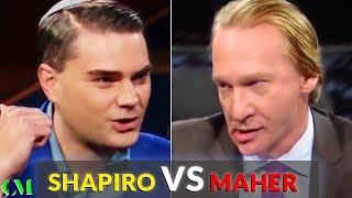 Ben Shapiro VS Bill Maher: ALPHA BATTLE Analysis