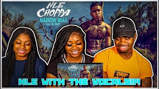 NLE Choppa - Narrow Road ft. Lil Baby (Official Audio) | REACTION