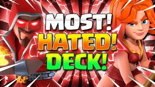 THIS ISN'T FAIR!! NEW #1 MOST HATED DECK IN CLASH ROYALE!!