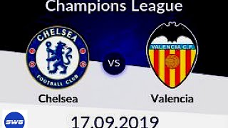Chelsea v Valencia The Champions League returns !!! Everything you need to know about Valencia !!!