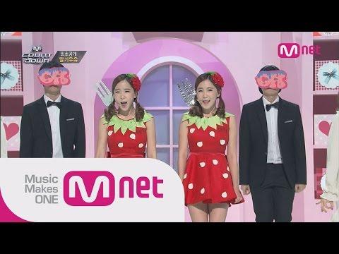 Mnet [M COUNTDOWN] Ep.398 : 딸기우유(Strawberry Milk) - OK @MCOUNTDOWN_141016