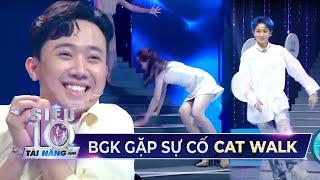 Hari Won trượt chân, Gil Lê đi như 'SAY RƯỢU' khi tham gia thử thách Catwalk | Teaser Tập 14 STNN