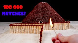 Match Chain Reaction Amazing Fire Domino VOLCANO ERUPTION