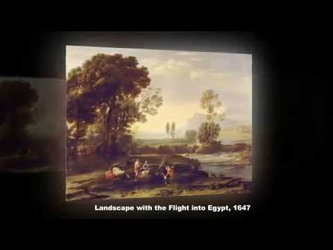 Famous Paintings of Claude Lorrain, A French Painter, Draughtsman and Engraver