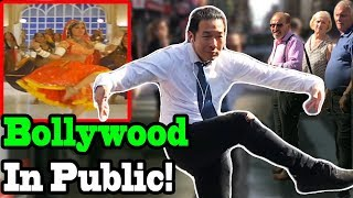 BOLLYWOOD SONGS IN PUBLIC!! (Prem Ratan Dhan Payo, Choli Ke Peeche, Dhoom, Chammak Challo, Badri Ki)