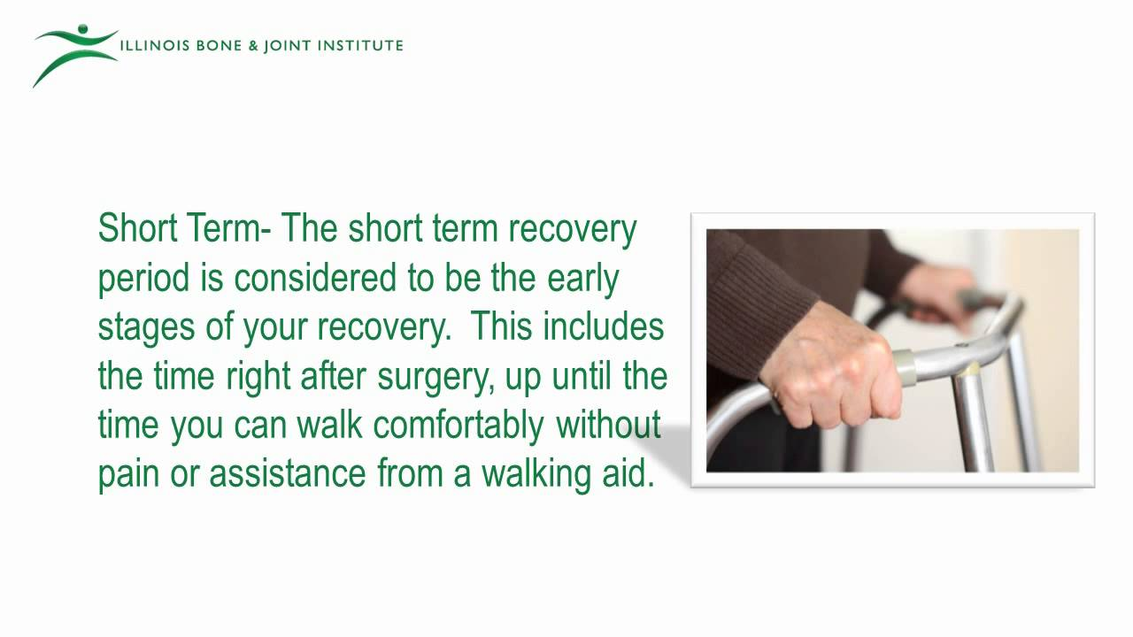 what is the recovery time for hip surgery