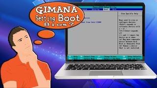 Cara Setting Bios Booting untuk instal ulang ( Tutorial Komputer )