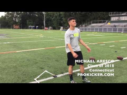 Michael Aresco, Ray Guy Prokicker.com Kicker, Class of 2018