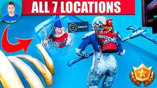 FORTNITE Search Chilly Gnomes Locations - ALL 7 LOCATIONS WEEK 6 CHALLENGES FORTNITE SEASON 7