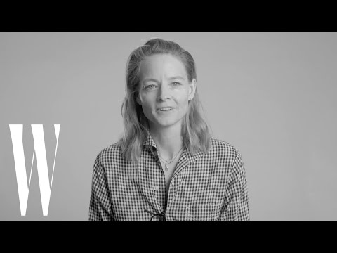 Jodie Foster on Her Crush on Robert Redford and How Sting is Perfect   Screen Tests   W Magazine