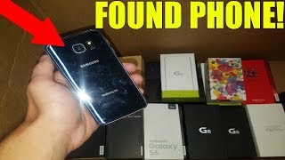 FOUND BRAND NEW PHONE BOXES WITH PHONES INSIDE? Phone Store Inventory Dumpster Dive!