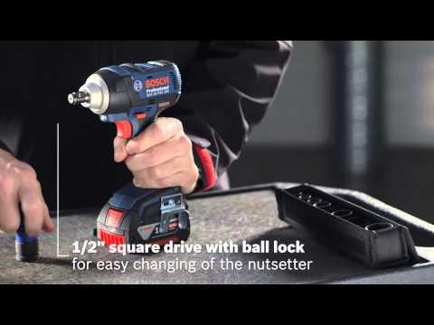 Bosch GDS18V-LI 18V Impact Wrench 18V Cordless Body Only Supplied In L BOXX