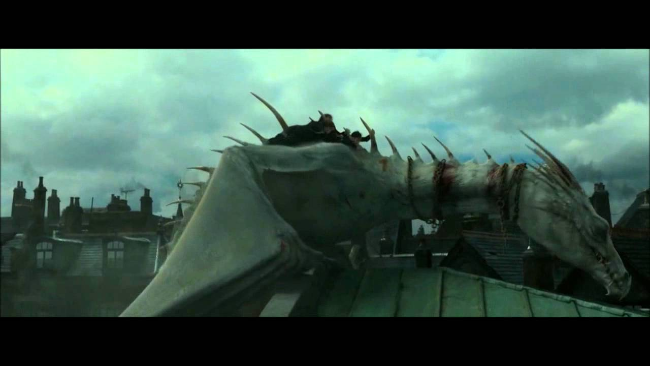 Dragon Flight - Harry Potter and the Deathly Hallows: Part ...