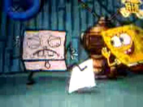 Spongebob Strichmännchen