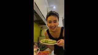 Ninh Dương Lan Ngọc chuẩn bị lấy chồng nên phải biết nấu ăn