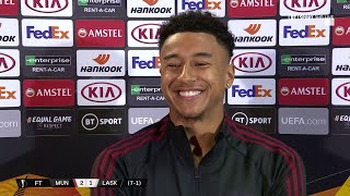 """""""Man Utd is in my blood, I love playing for the club!"""" Jesse Lingard on future at Old Trafford"""