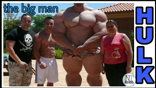 Real hulk, the biggest man and the strongest man in the world .must watch.(jaint morgan aste)