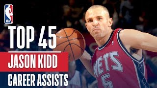 Jason Kidd's Top 45 Assists!