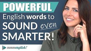 Powerful Vocabulary: English Words To Sound Smart