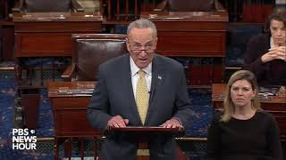 Schumer blasts Republicans for 'scorched earth tactics'
