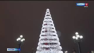 В Омске открывается новогодний маршрут