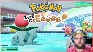 Pokemon Let's Go: Eevee - Episode 4 (Misty Battle / Travel to Vermilion)