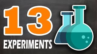 13 AMAZING EXPERIMENTS | CHEMICAL TRICKS THAT WILL BLOW YOUR MIND