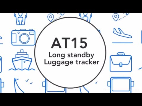 Luggage Tracker AT15, A Key to better Insights and Security for Luggage Industry