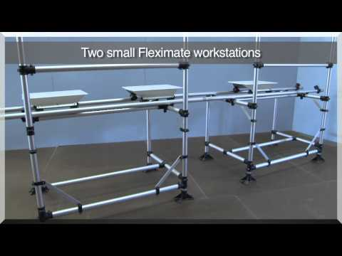 Fleximate Workstation without Return