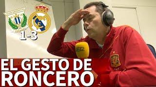 Leganés 1-3 Real Madrid | El gesto de alucine de Roncero tras el jugadón del Madrid | Diario AS