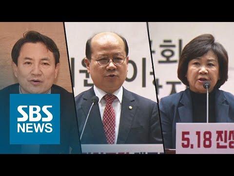직접 사과 나선 당사자들…한국당 '5.18 망언' 사태 후폭풍 / SBS / 주영진의 뉴스브리핑