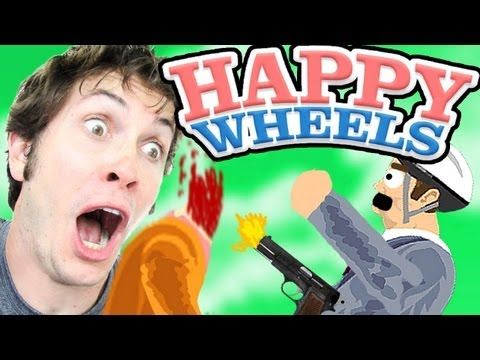 PISTOL PELVIS - Happy Wheels - Smashpipe Games
