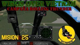 Wings over Vietnam / 357th TFS Licking Dragons / Misión 25