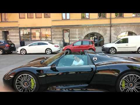La Porsche de Zlatan Ibrahimovic