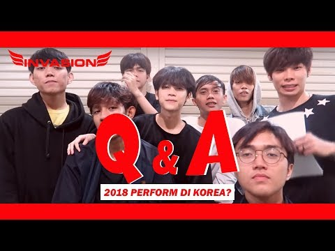 TRICKSTER FROM INVASION DC Q&A : 2018 BAKAL PERFORM DI KOREA ?