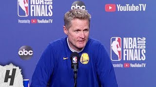 Steve Kerr Full Interview - Game 5 Preview | 2019 NBA Finals Media Availability