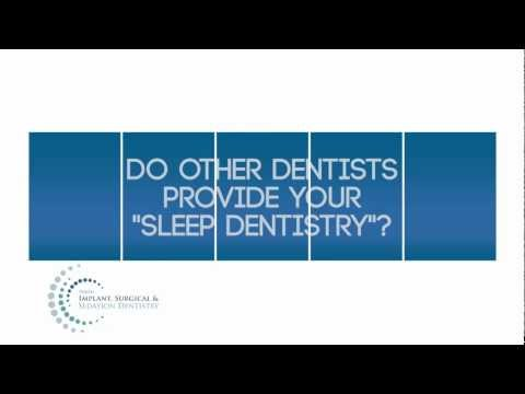 Why Us for Sleep Dentistry? Do others provide Sleep Dentistry?