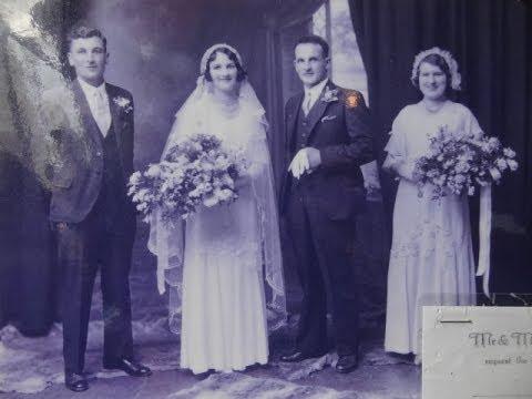 Свадебные Ретро Фотографии 30-60г. Старое Кафе