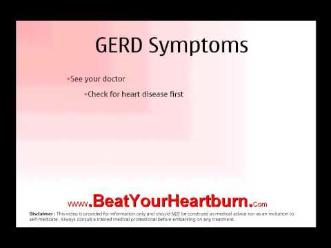 Acid Reflux Symptoms After Surgery