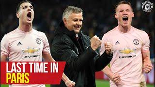 Last time in Paris! | PSG v Manchester United | UEFA Champions League