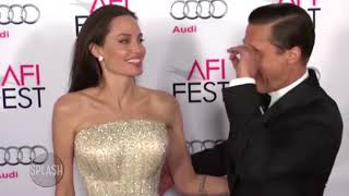 Brad Pitt angry with Angelina Jolie's public divorce | Daily Celebrity News | Splash TV