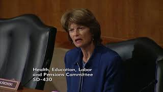 Senator Murkowski Questions HHS Secretary Nominee Alex Azar