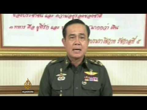 Thailand's army declares martial law