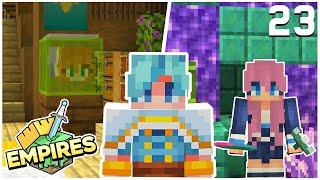 Spooky Décor & a Visiting the Ocean Queen! - Minecraft Empires SMP - Ep.23