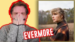 Taylor Swift almost killed me....an Evermore Album reaction