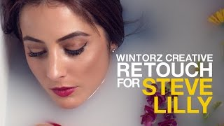 Wintorz Creative: Steve Lilly Retouch Timelapse