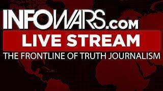 LIVE 📢 Alex Jones Infowars Stream With Today's Shows • Monday 7/16/18