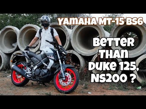 video Yamaha MT-15 BS6