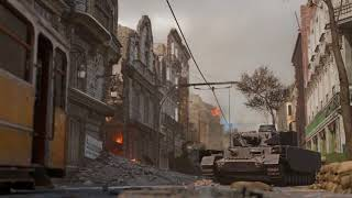Call of Duty: WWII - Aachen Multiplayer Map Flythrough