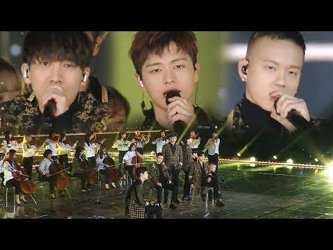 BTOB, 서정적이고 웅장한 매력 넘친 무대 '그리워하다' @2017 SBS 가요대전 2부 20171225
